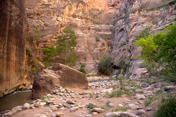 The quiet life of Zion